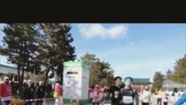 เปิดวินาทีสุดภูมิใจของ ก้อย รัชวิน วิ่งมาราธอนเข้าเส้นชัย