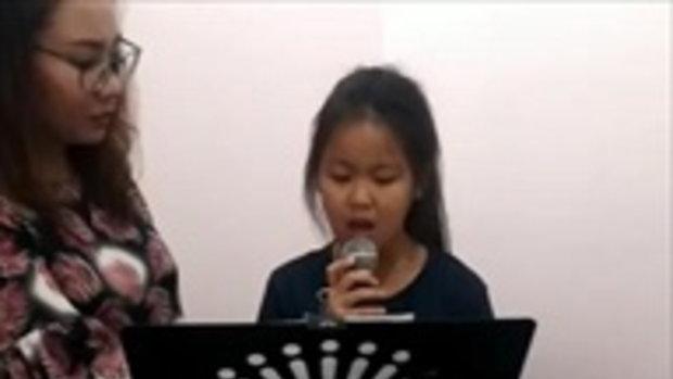 น้องณัชชา ลูกสาวพี่บ๊อบ อินเนอร์มาเต็ม โชว์พลังเสียงร้องเพลง