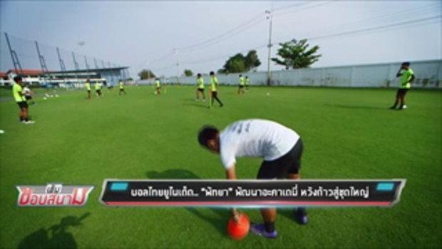 """บอลไทยยูไนเต็ด.. """"พัทยา"""" พัฒนาอะคาเดมี่ หวังก้าวสู่ชุดใหญ่ - เข้มข่าวค่ำ"""