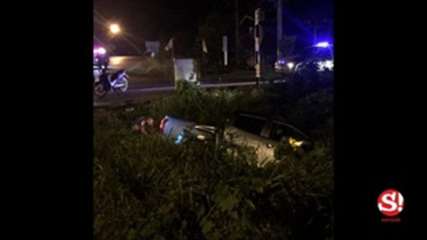 บิว กัลยาณี โชว์สภาพรถพังยับหลังเกิดอุบัติเหตุ เคราะห์ดีไม่เป็นอะไรมาก