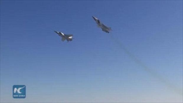 """สำเร็จ รัสเซียทดสอบยิงขีปนาวุธ """"ไฮเปอร์โซนิก"""""""