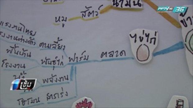 นักวิชาการ ชี้ คนไทยอยู่ในระบบผูกขาดอาหาร ใช้สารเคมีผลิต - เข้มข่าวค่ำ