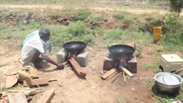 จะสำเร็จมั้ย! เมื่อ เชฟลุงอินเดีย ซื้อน่องไก่ 100 ชิ้น มาทำไก่ทอดสูตร KFC ไปแจกคนยากจน
