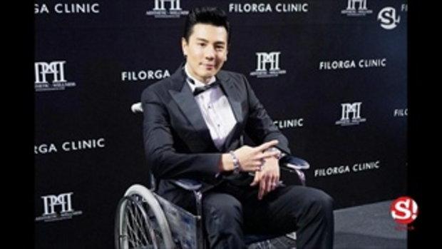 โดม ปกรณ์ ลัม นั่งรถเข็นออกงาน ถึงกับเซ็งขาพลิกกระดูกแตก