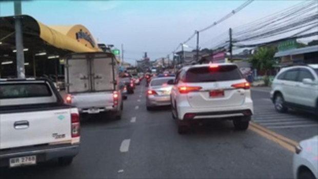 คนไทยก็ทำได้ แห่ชื่นชม รถบนถนนสามัคคีกันหลบให้รถพยาบาล เบี่ยงทางให้ทุกคัน
