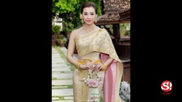 แม่การะเกด เบลล่า สวมชุดไทยประยุกต์ ออเจ้าชมเปราะสวยสุดในพระนคร