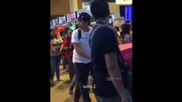ณเดชน์ ควง แม่แก้ว ไปเที่ยวญี่ปุ่น มีแฟนๆมารอส่งที่สนามบินแน่น