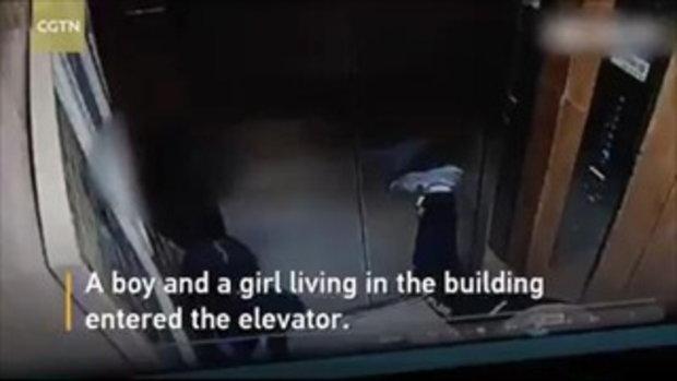 เด็กจีนเล่นซนจนลิฟต์พัง พ่อแม่บอกต้องขอบคุณ เพราะช่วยชี้ภัยอันตราย
