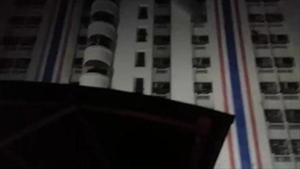 ไฟไหม้อพาร์ทเม้นท์ ย่านราชเทวี ตาย 3 เจ็บกว่า 100