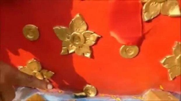 จู่ๆ ด้ายแดงหล่นใส่ !! สาวกัมพูชาเฮงถูกหวย 6 ใบ กุมารเจ้าสัวเฮงให้โชค น้ำตาไหลมีเงินกลับบ้านรอบ 2 ปี