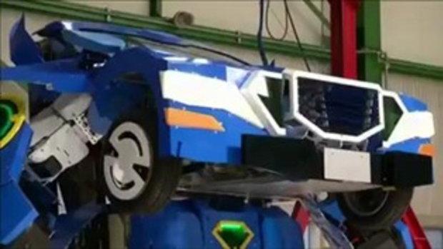 สุดเจ๋ง ญี่ปุ่นพัฒนาหุ่นยนต์แปลงร่างได้สำเร็จ