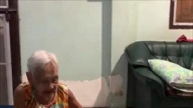ลีโอ..กินแม้กระทั่งเบี้ยผู้สูงอายุของยาย 555