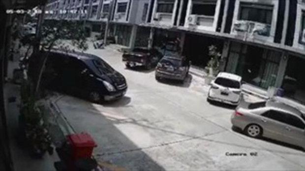 วงจรปิด คนร้ายราดน้ำมันเบรคใส่รถป้ายแดง