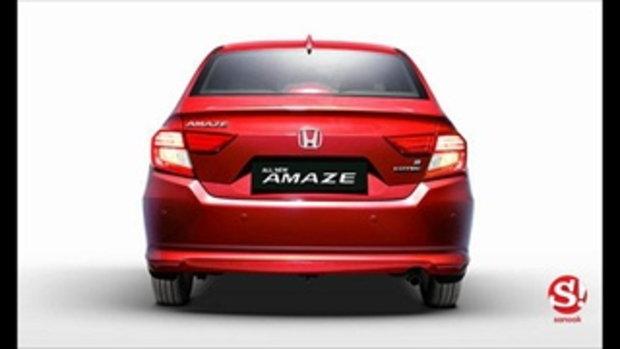 จัดเต็ม! Honda Amaze 2018 โฉมใหม่อย่างละเอียดทั้งภายนอก-ภายใน