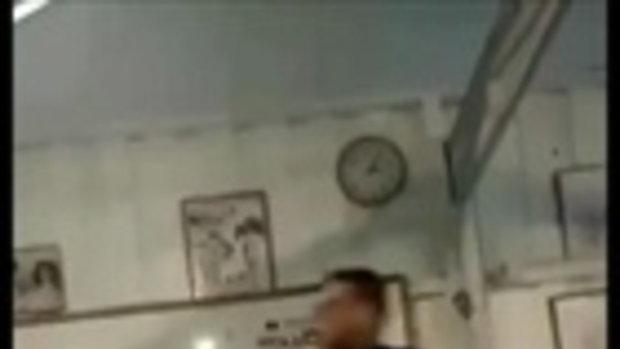 ว่อนเน็ต! คลิปครูนครศรีฯซ้อมเด็กในห้องเรียน