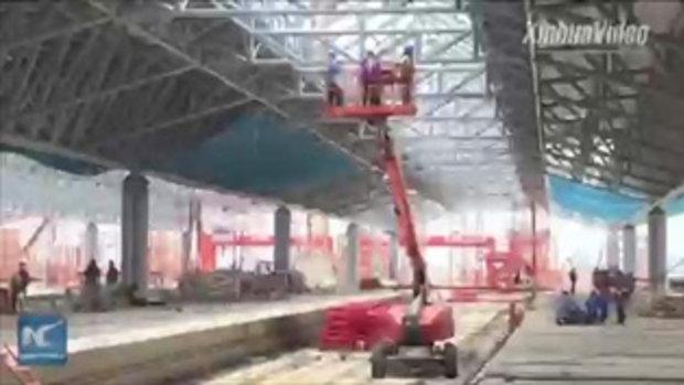 """เจอกันปี 2020 """"บางซื่อแกรนด์สเตชัน"""" สถานีรถไฟใหญ่ที่สุดในเอเชียตะวันออกเฉียงใต้"""