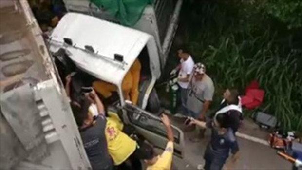 เพื่ออะไร! นักข่าวต่อยกู้ภัยเพื่อจะทำข่าวมากกว่าการที่จะช่วยชีวิตคน