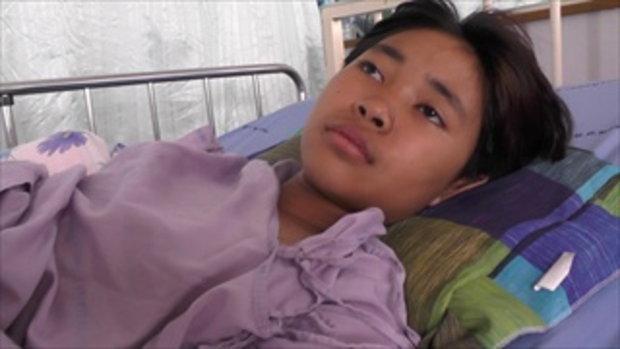 พลังโซเชียลช่วยเด็กถูกรถอีแต๋นทับกระดูกขาแหลก ยอดบริจาคทะลุล้าน