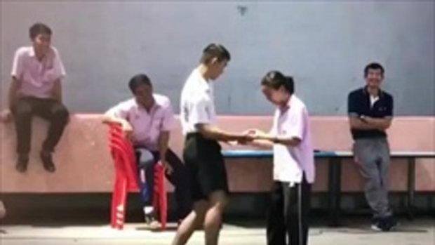 เมื่อครูให้เต้นลีลาศจังหวะชะชะช่า จัดให้หมดเอว