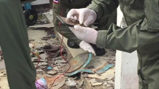 ตรวจบ้านถังแก๊สระเบิด ตะลึง พบสารพัดอุปกรณ์เต็มบ้านแทบไม่มีที่นอน