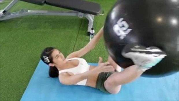 ส่องความเซ็กซี่ แน๊ต เกศริน หลังออกกำลังกายอย่างหนัก