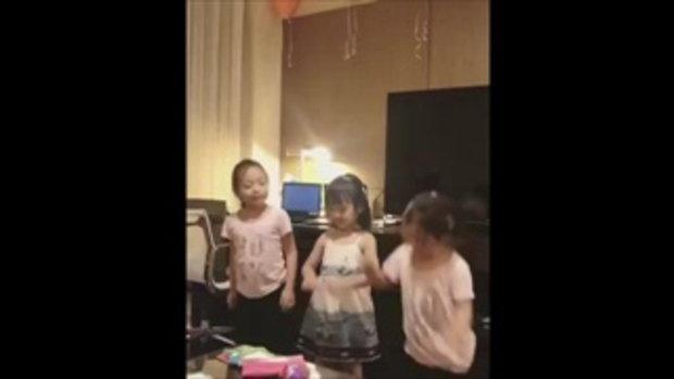 น้องปีใหม่ นัดเพื่อนสาวรวมตัว เปิดคอนเสิร์ต ร้องเพลงแดนซ์กระจาย น่ารักสุดๆ