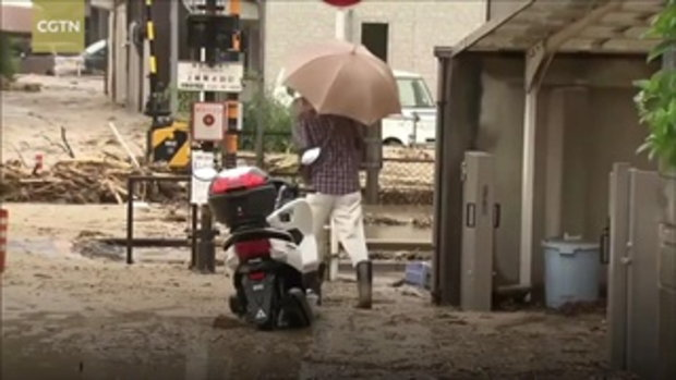 ความเสียหายล่าสุด ภัยน้ำท่วมที่ญี่ปุ่น