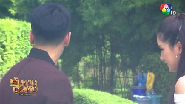 ลูกไม้ลายสนธยา : เบื้องหลังฉาก พิม พิมประภา จูบ สองหนุ่ม ฌอห์ณ จินดาโชติ-อ๊อฟ ชนะพล