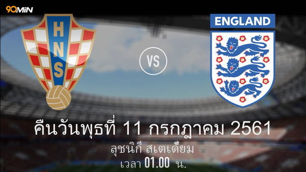 Croatia Vs England Th