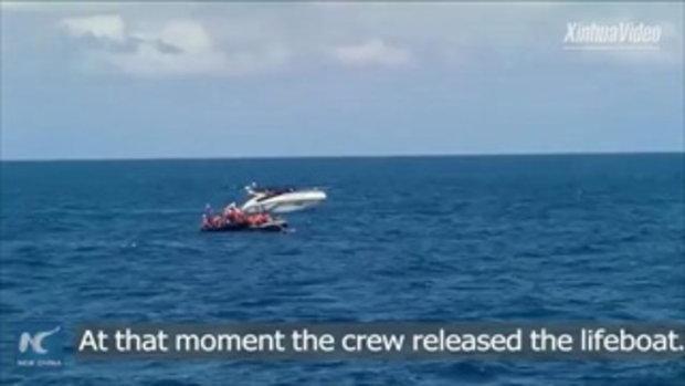 หนุ่มจีน ผู้รอดชีวิต เล่าวินาทีเรือล่มที่ภูเก็ต ลูกเรือไม่แจ้งเตือนอะไรเลย