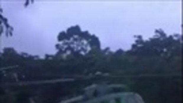 นาทีลำเลียง 2 หมูป่า ขึ้นเฮลิคอปเตอร์ไป รพ.เชียงรายฯ