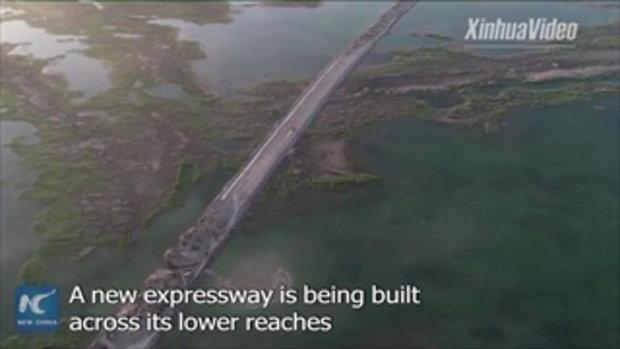 จีนสร้างทางหลวงใหม่อีกสาย ยาว 360 กิโลเมตร พาดผ่านลุ่มแม่น้ำทาริม