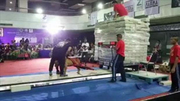 หมาไทยไม่แพ้ชาติใดในโลก!! เรียกน้ำหนักครั้งแรก 10,000 กิโล ครั้งเดียวชนะเลย