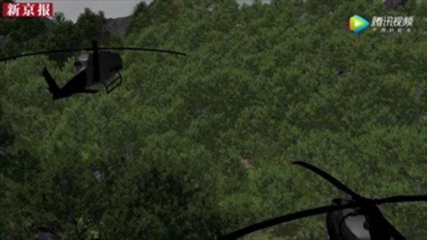 สื่อจีนติดตามภารกิจพาหมูป่า 13 ชีวิต ออกจากถ้ำหลวง พร้อมทำคลิปอธิบายสุดล้ำ