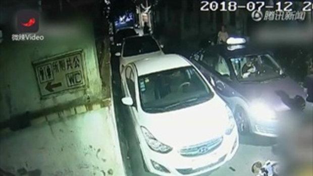 สองผัวเมียจิตหลุด พาหมาไปเดินเล่นถูกแท็กซี่ชนตาย ลั่น ต้องชดใช้ด้วยชีวิต