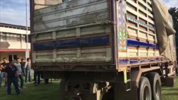 จับยาบ้า 10 ล้านเม็ด ยาไอซ์ 600 กิโลบนรถสิบล้อที่บรรทุกมากับเมล็ดข้าวโพด