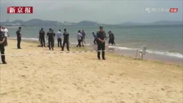 สลด เด็กหญิงฝาแฝดวัย 8 ขวบ หายตัวขณะเล่นริมหาด หาข้ามวันพบจมน้ำตายคู่ 1/2