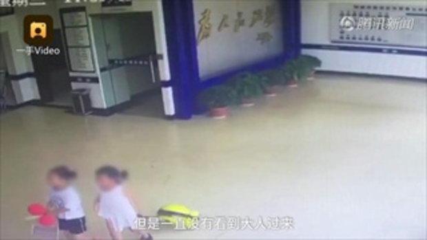เด็กหญิง 9 ขวบ พาน้องหนีออกจากบ้าน น้อยใจพ่อแม่มีลูกคนที่สอง