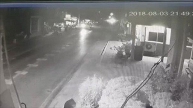 แถลงจับโจรอายุแค่ 15 จี้คอปล้นแท็กซี่ใจเด็ด หักพวงมาลัยชนเสาไฟฟ้า