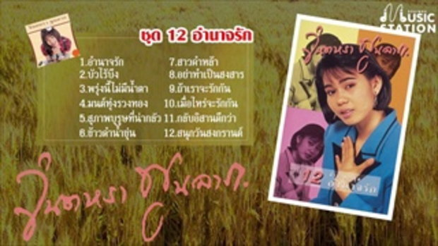 รวมเพลง จินตหรา พูนลาภ ชุด 12 อำนาจรัก【OFFICIAL LONGPLAY】