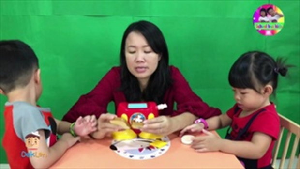 รีวิวเครื่องปิ้งขนมปังมิกกี้เม้าส์ของเล่นสุดพิเศษของน้องเมย์
