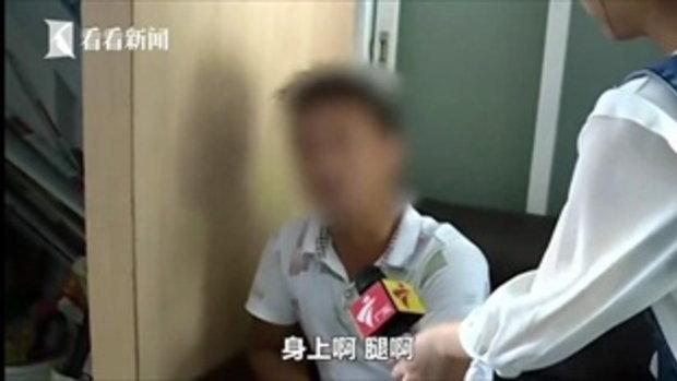 ภาพช็อก เด็กชายจีนรอดชีวิต หลังนอนคว่ำหน้าจังหวะถูกรถขับทับ