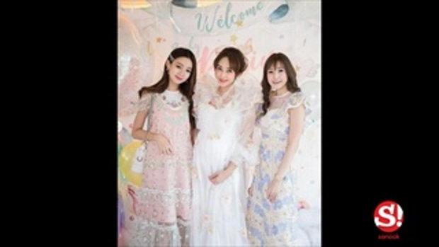 เป้ย ปานวาด ควง ป๊อบ นิธิ จัดงาน Baby Shower ต้อนรับลูกสาว น้องปาลิน