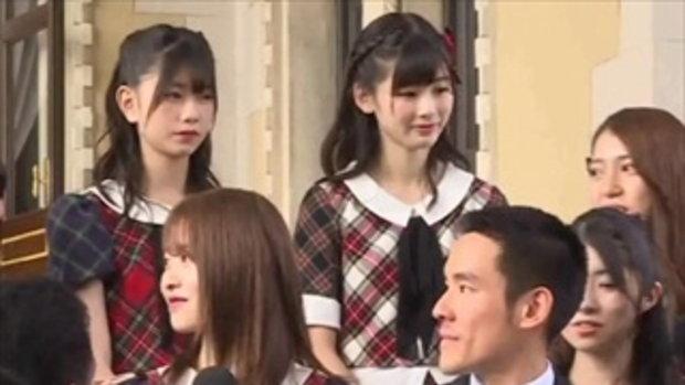 วง AKB48 ดีใจเจอนายกฯ ได้เต้นคุกกี้เสี่ยงทาย