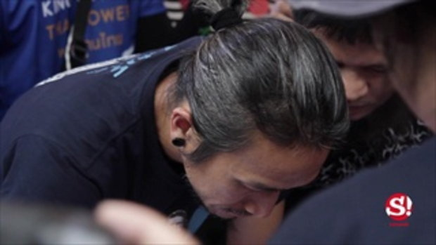 คิงเพาเวอร์ รวมพลังคนไทย ชวนดู 2,215 เชื่อ บ้า กล้า ก้าว ที่อาคารนิมิบุตร!