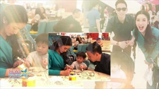 ภาพแรก!พ่อแม่ลูก 'แพท-เบนซ์เรซซิ่ง' โพสต์ภาพครอบครัว