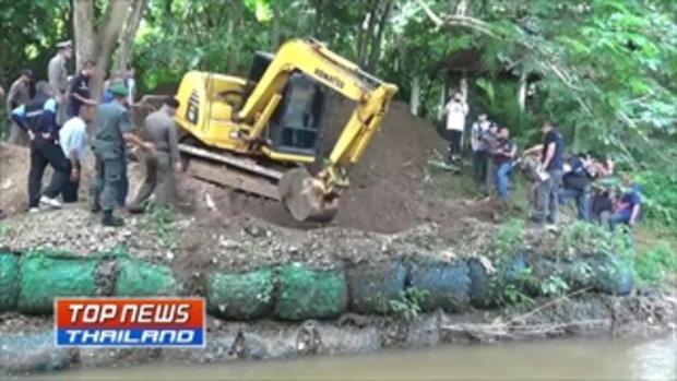 พบแล้ว ศพฝรั่งกับเมียคนไทย ถูกฆ่าฝังดินลึก 3 เมตร ในสวนของผู้ตาย