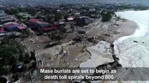 ย้อนดูมหันตภัยสึนามิ ถล่มอินโดฯ คร่านับหลายร้อยชีวิต