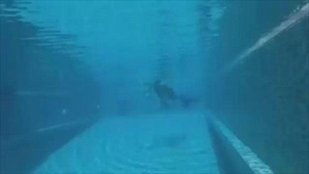 ไม่ได้มาเล่นๆ เงือกสาว 'แพนเค้ก' เปิดเบื้องหลัง กว่าจะสวยพริ้วใต้น้ำ