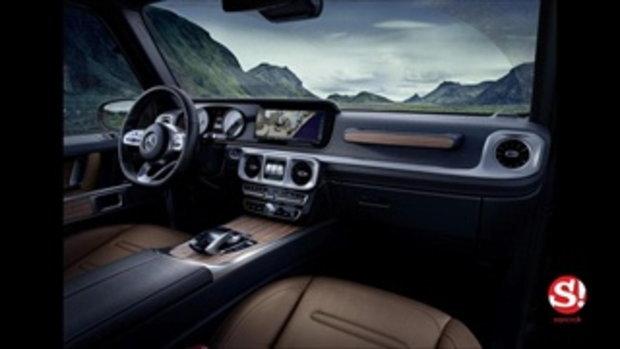 หลุดตัวจริง Mercedes-Benz G-Class 2018 ใหม่ ปรับหรูพร้อมเน้นลุยยิ่งกว่าเดิม